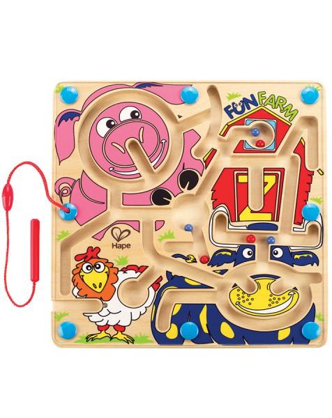 Hape Magnetlabyrinth Lustiger Bauernhof E1702