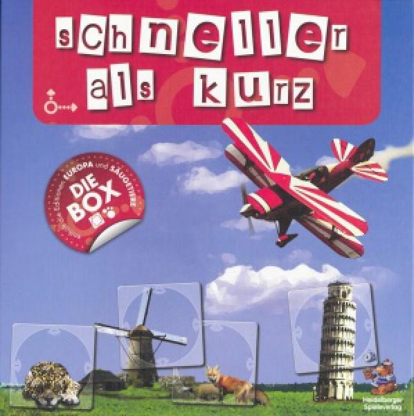 Heidelberger Spieleverlag Schneller als Kurz