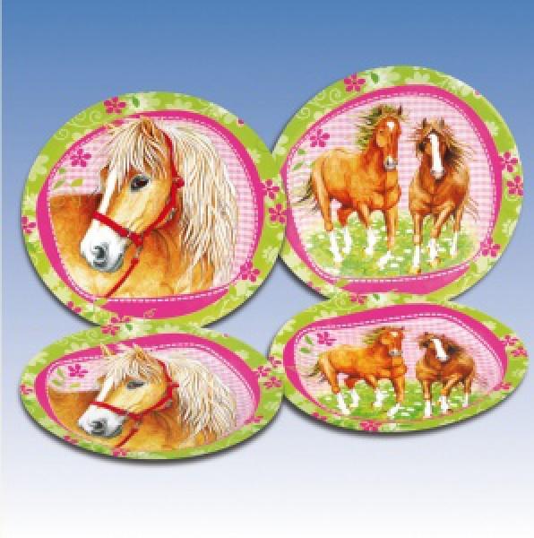 Partyteller Pferde 551259
