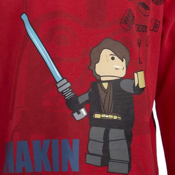 LEGO WEAR STAR WARS Anakin Skywalker Langarmshirt Terry 755