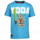 LEGO Wear Jungen T-Shirt THOR 353 Star Wars YODA