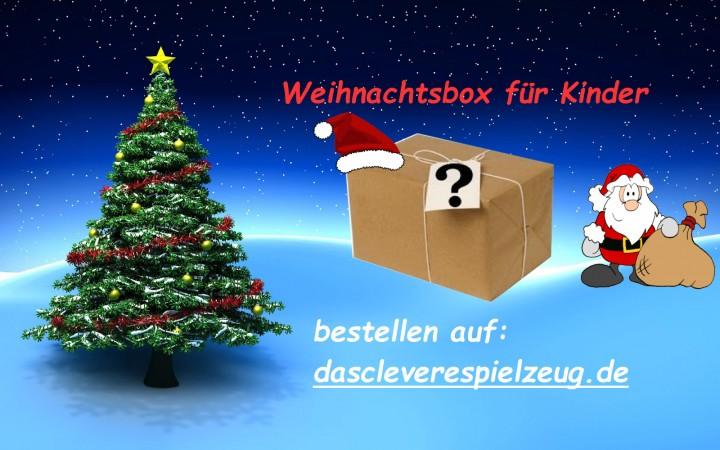 Weihnachtsbox für Kinder in limitierter Auflage